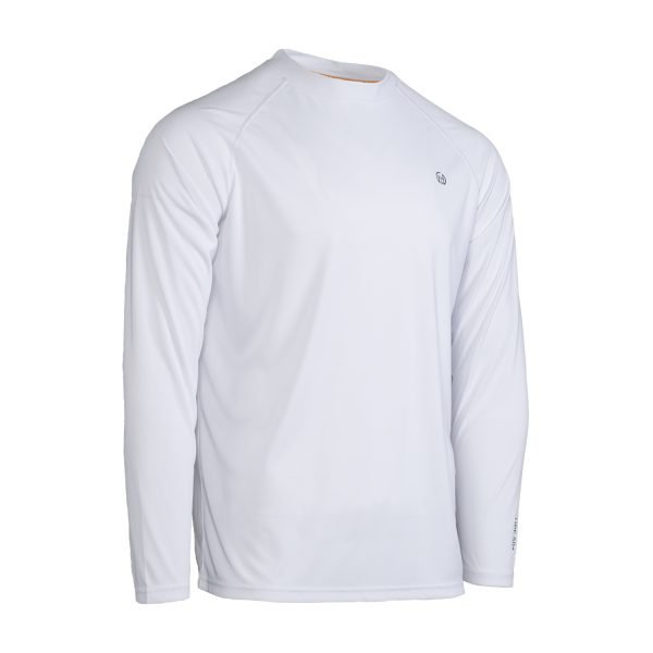 sun protective t-shirt white side