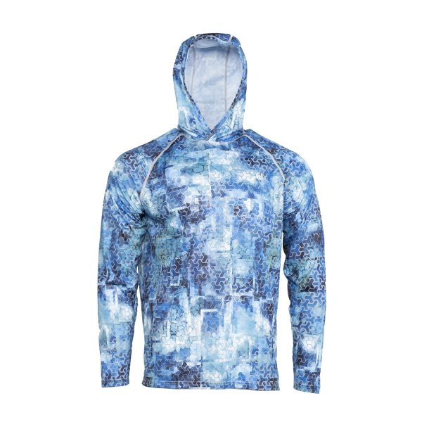 Sun Protective Hoodie print front 2