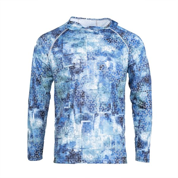 Sun Protective Hoodie print front